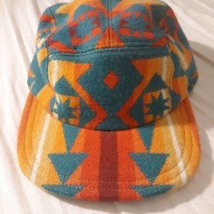 Vintage Ralph Lauren hand stitched 5-panel Aztec